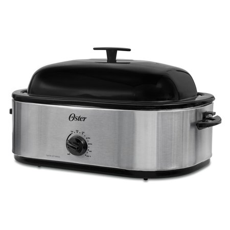 Wondrous Oster 18 Quart Roaster Oven With High Dome Lid Stainless Steel Wiring Cloud Ostrrenstrafr09Org
