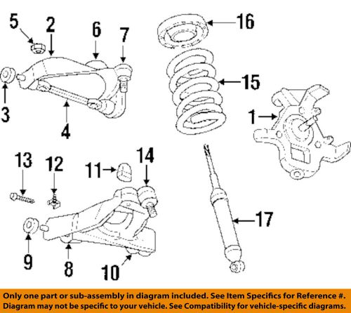 Magnificent Find Dodge Chrysler Oem 00 04 Dakota Front Suspension Upper Ball Wiring Cloud Ostrrenstrafr09Org