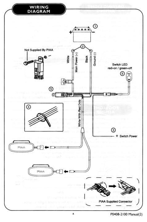 HT_6834] Piaa Fog Light Wiring Harness Schematic WiringAnth Xtern Favo Mohammedshrine Librar Wiring 101