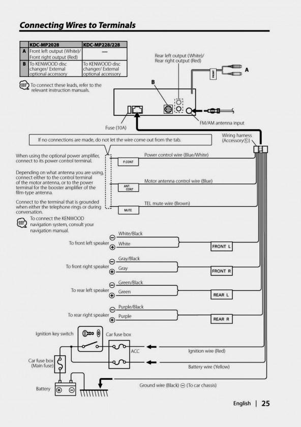 en5544 kenwood car stereo wiring harness diagram kdc 248u