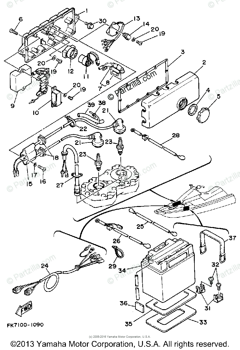 MR_8673] Wiring Diagram For Yamaha Viking Schematic WiringMill Bemua Capem Mohammedshrine Librar Wiring 101