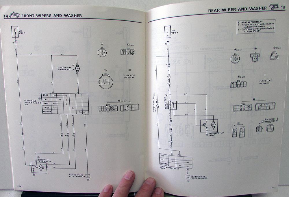 Toyota Starlet 1998 Wiring Diagram - Wiring Diagram