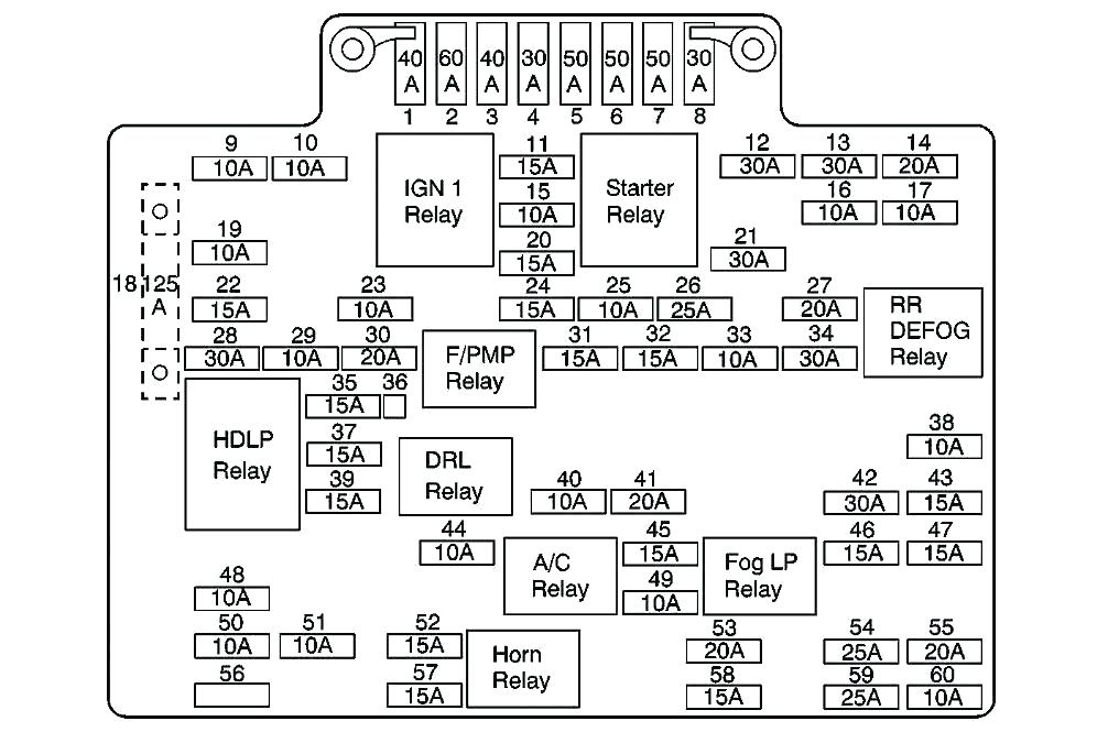 2005 Chevrolet Colorado Radio Wiring Diagram