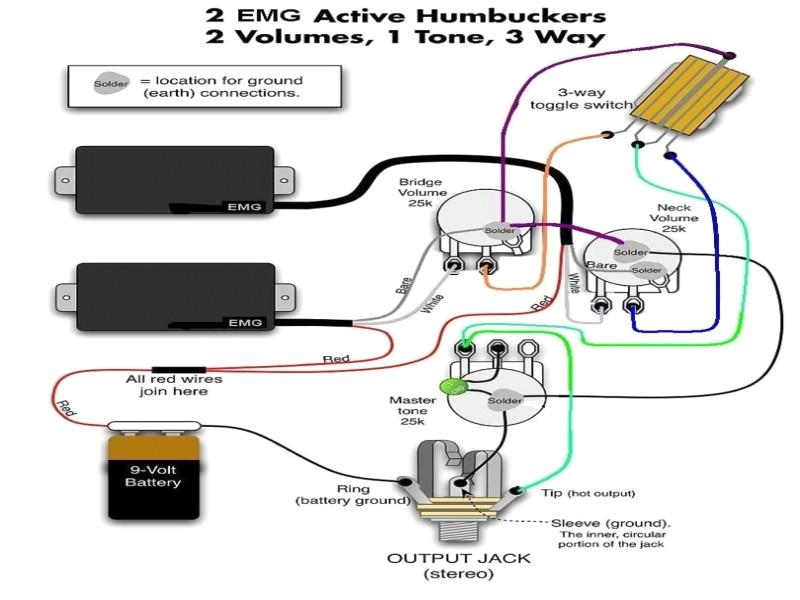 Emg Wiring Diagram One Volume