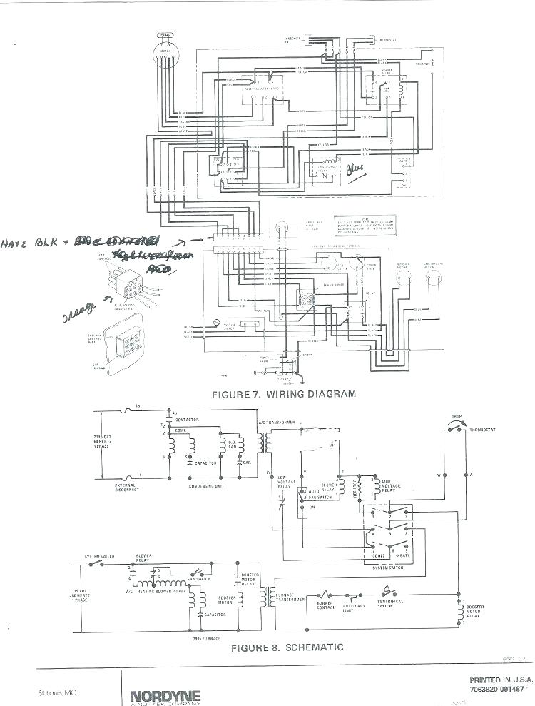 oc9721 nordyne electric furnace diagram wiring diagram