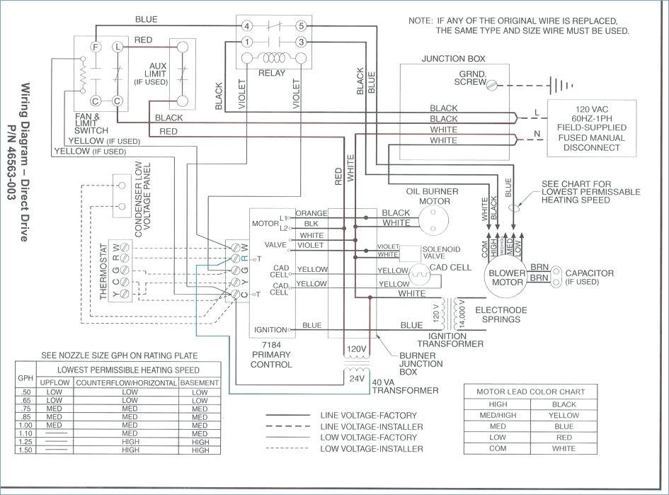 Ah 0488 Nordyne Electric Furnace Diagram Free Diagram