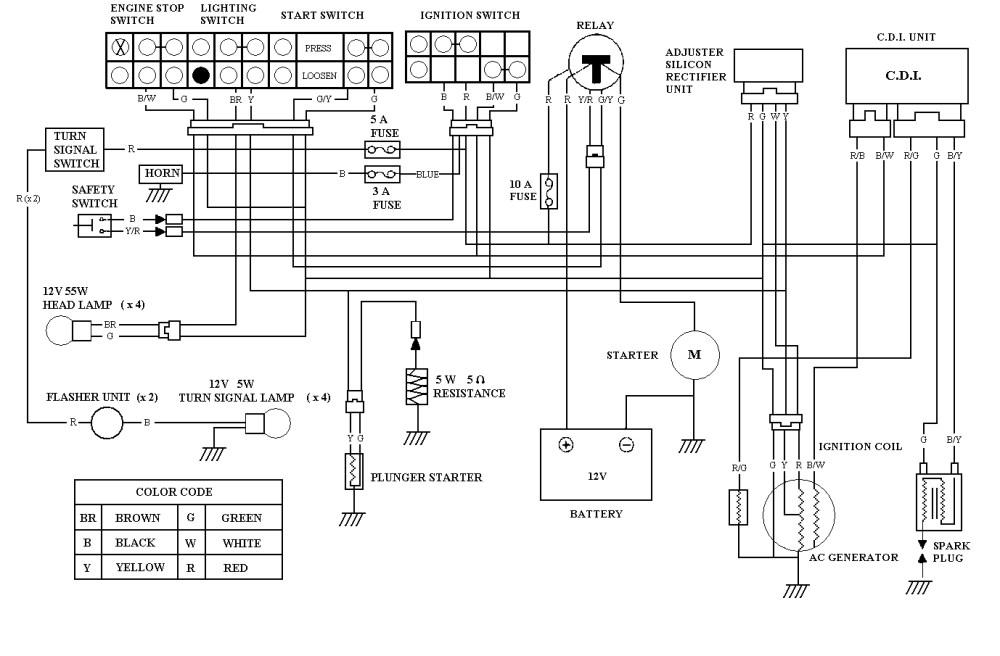 Electric Choke Wiring Diagram
