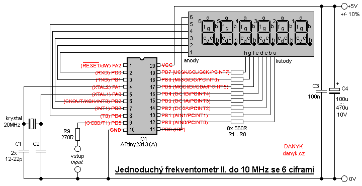 Peachy 6 Digit 10 Mhz Frequency Meter Counter Ii Wiring Cloud Staixaidewilluminateatxorg