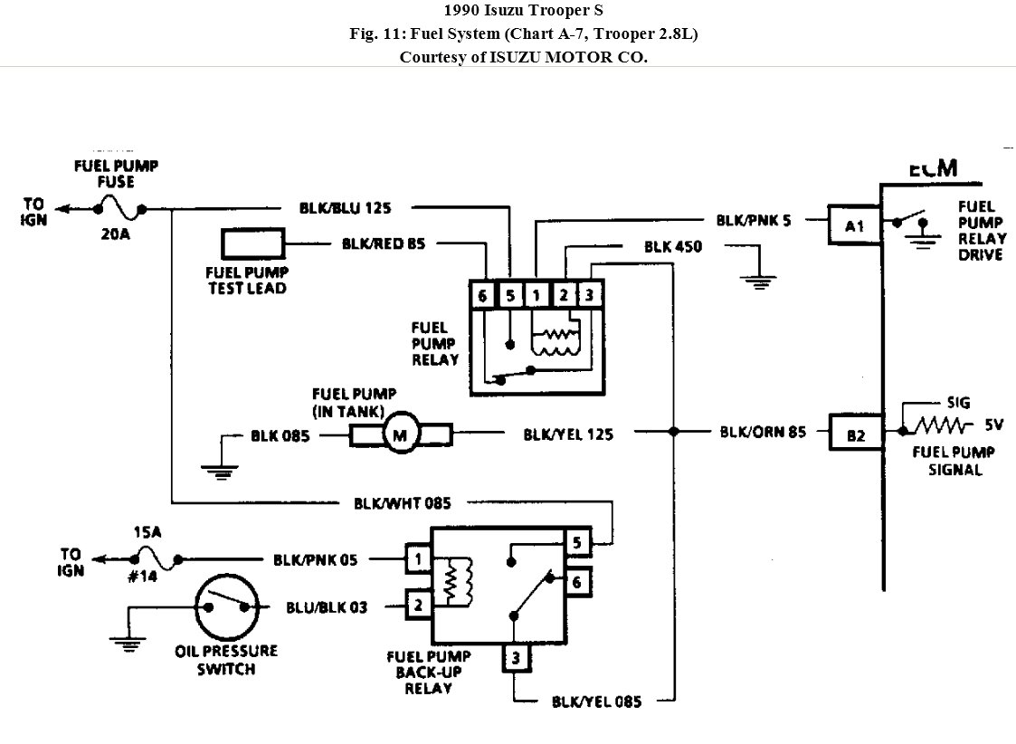isuzu fuel pump wiring diagram bh 9261  can you email me a diagram for the entire injector  bh 9261  can you email me a diagram for