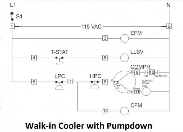 walk in freezer defrost wiring diagram  diagram for 95 geo