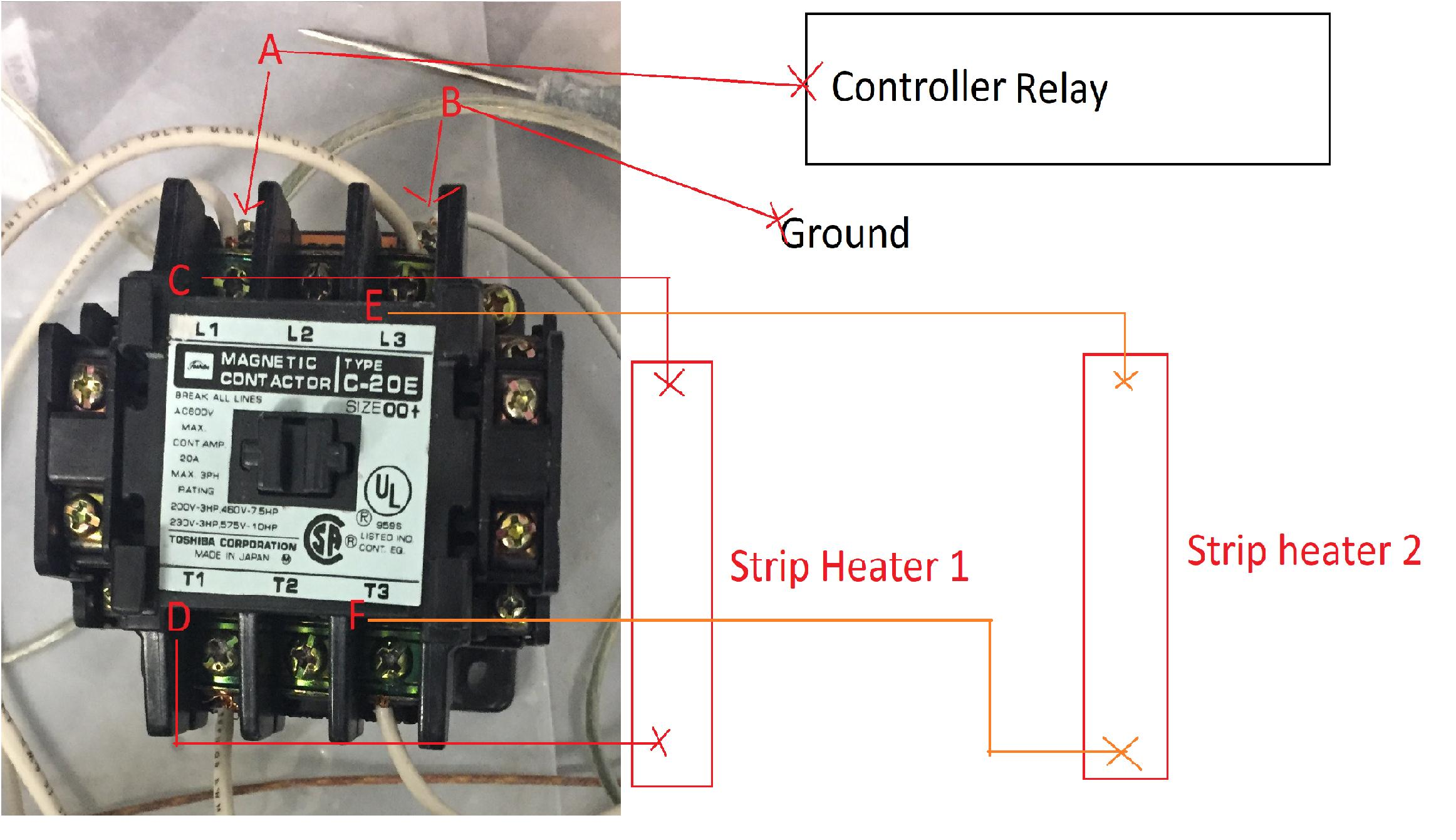Bg 5640  Magnetic Contactor 1 Pole Relay Wiring Free Diagram