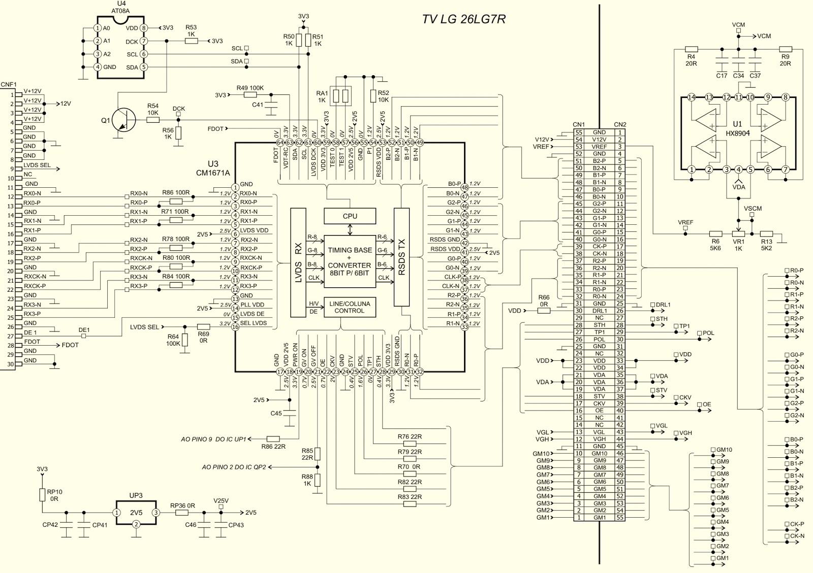 Terrific Lg Tv Circuit Board Diagram Diagram Data Schema Wiring Cloud Inklaidewilluminateatxorg