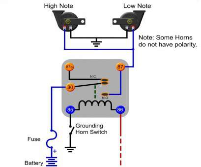 Wiring Diagram A 12 Volt Automotive Relay - Wiring Diagram