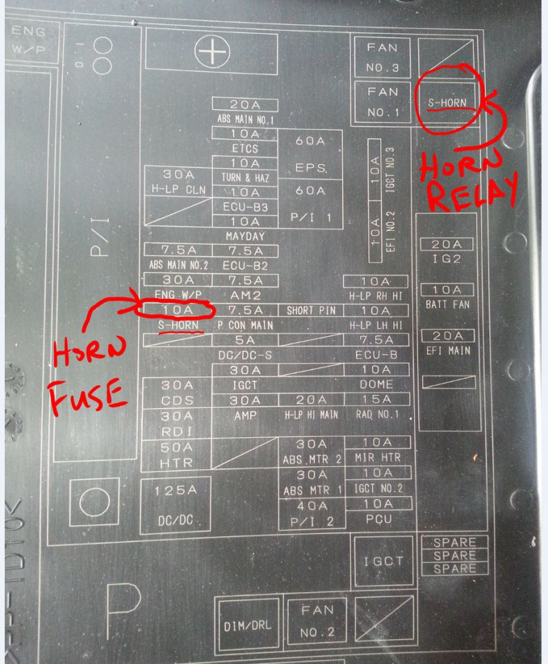 Ro 1894 2010 Toyota Fuse Box Wiring Diagram