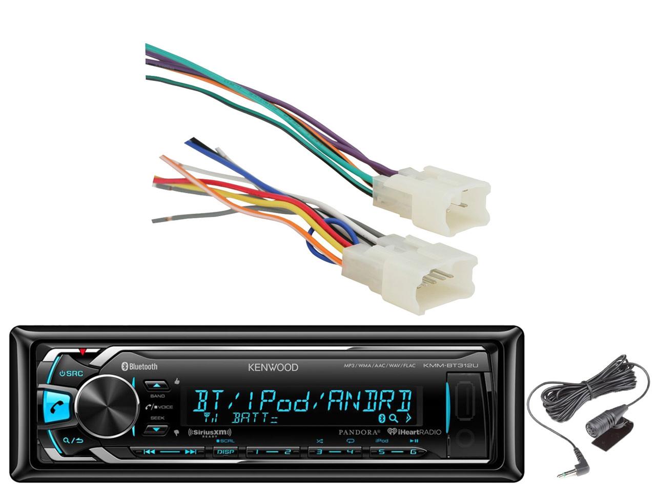Sensational Kenwood Bluetooth Aux Usb Mp3 Car Receiver Toyota 87 Up Metra 70 1761 Harness Wiring Cloud Ostrrenstrafr09Org
