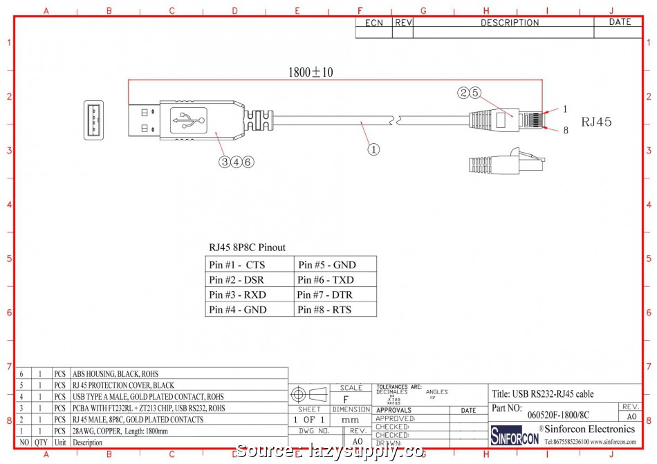 fd2446 rj12 to rj45 pin wiring diagram schematic wiring