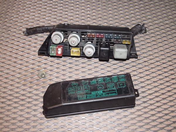 Terrific 87 88 89 Toyota Mr2 Oem Engine Fuse Box Autopartone Com Wiring Cloud Uslyletkolfr09Org
