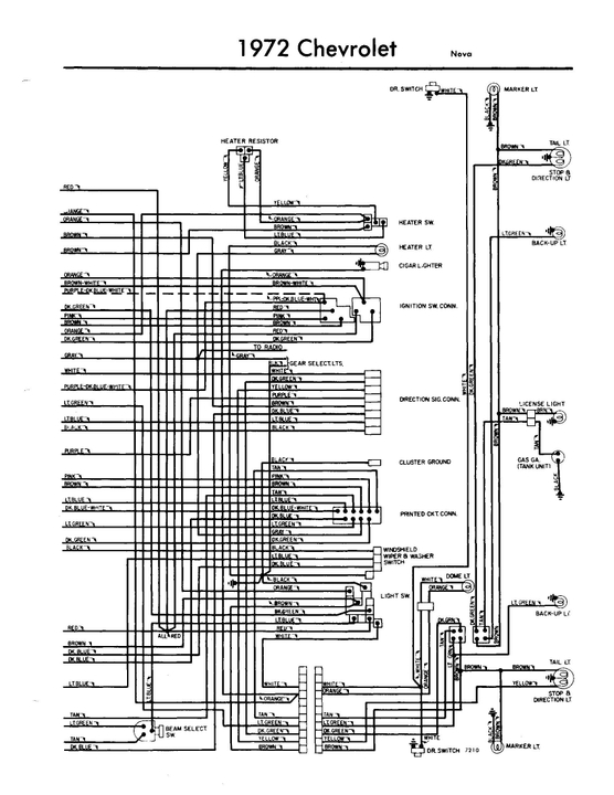 1973 Chevy Nova Wiring Diagram 1972 Wiring Diagrams Name Name Miglioribanche It