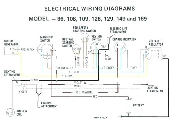 wiring diagram for cub cadet 149  axles trailer brake
