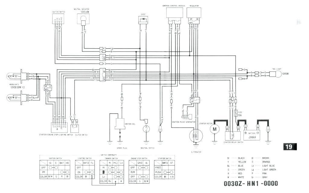 99 Banshee Wiring Diagram