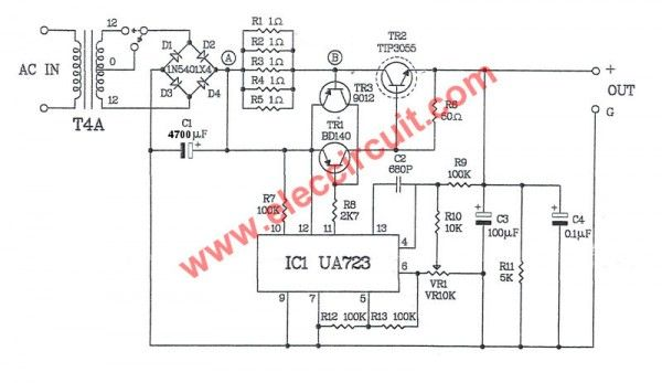 Fabulous 30V Variable Power Supply Circuit Diagram Project Diagram Data Schema Wiring Cloud Onicaxeromohammedshrineorg