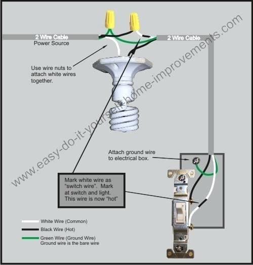 Light Switch Wiring Diagram Nz
