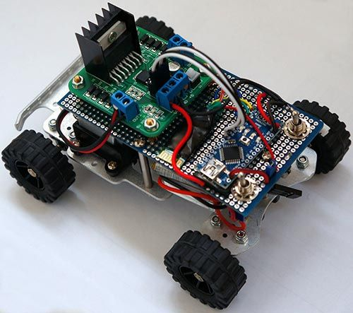 Fine Simple Rc Car For Beginners Android Control Over Bluetooth 10 Wiring Cloud Lukepaidewilluminateatxorg