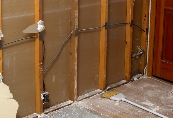 Pleasant Montalvin Manor Interior Wall Removal And Remodeling Debris Disposal Wiring Cloud Cranvenetmohammedshrineorg