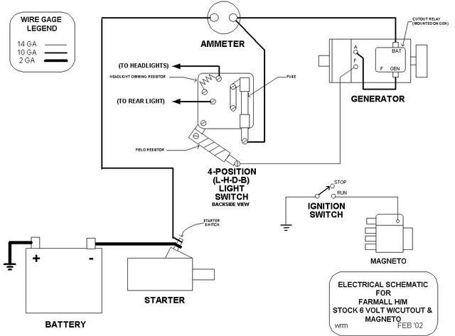 wiring diagram for farmall h tr 4251  farmall tractor wiring diagrams by robert melville  farmall tractor wiring diagrams by