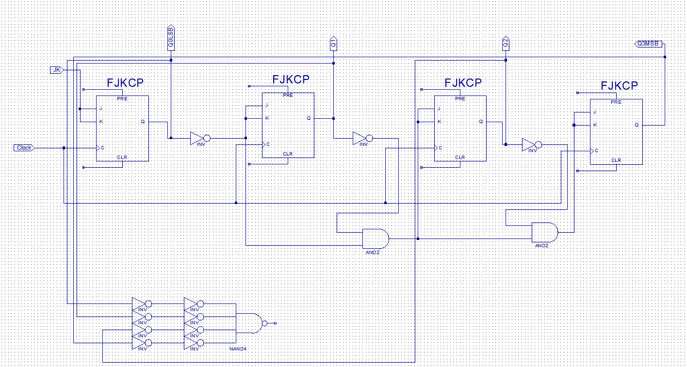Az 9222 How To Build A 4516 Binary Up Down Counter Circuit Download Diagram