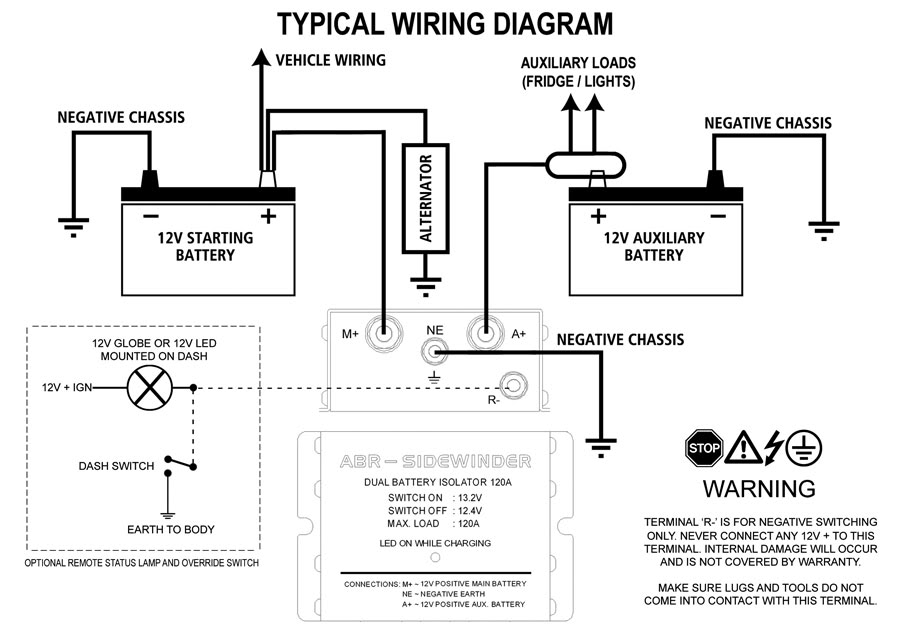 Battery Isolator Wiring Diagram Car Audio 2 Batteries Under Hood One Drycell For Stereo from static-resources.imageservice.cloud