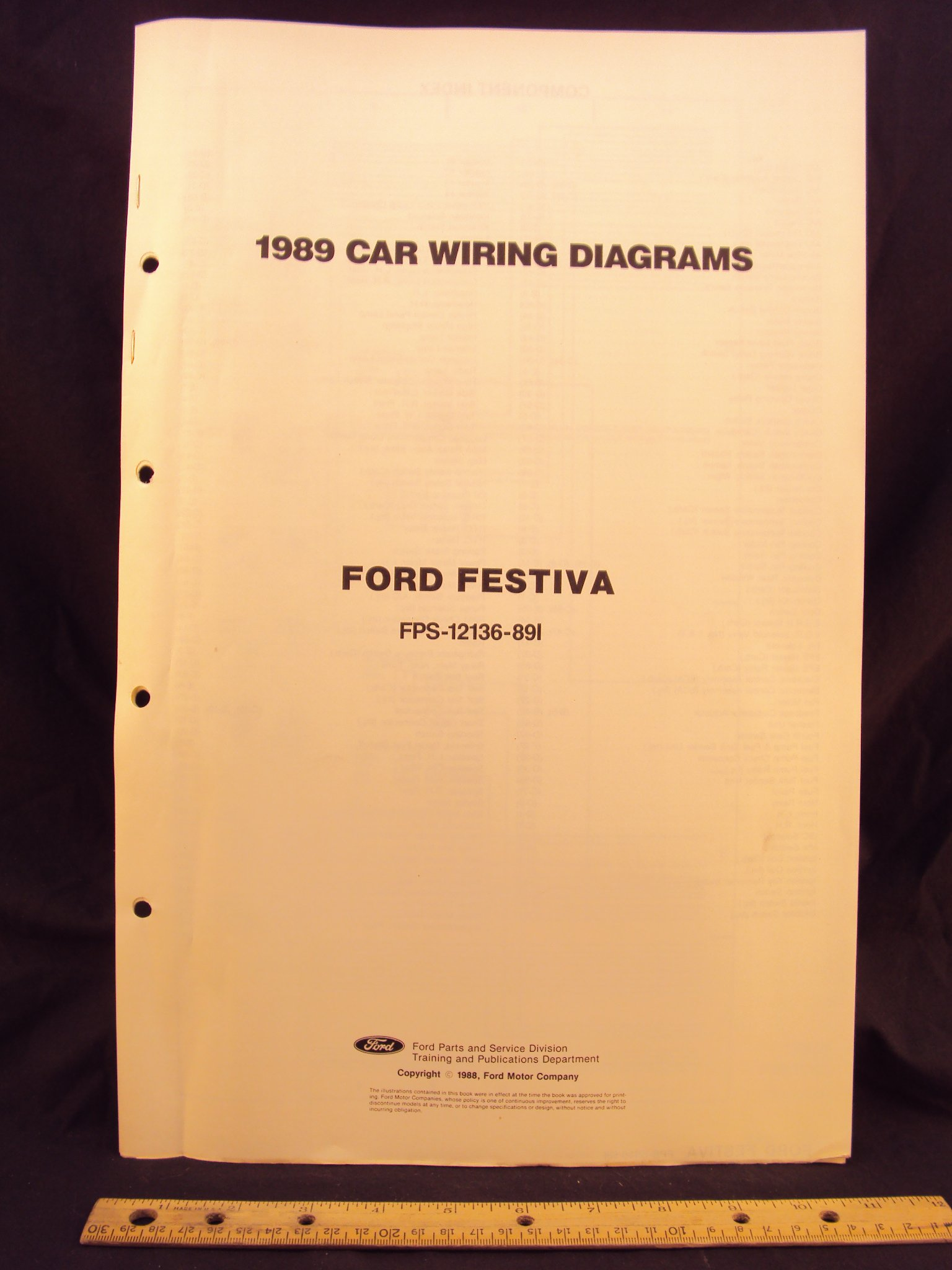 Awesome 1989 Ford Festiva Electrical Wiring Diagrams Schematics Ford Wiring Cloud Mousmenurrecoveryedborg