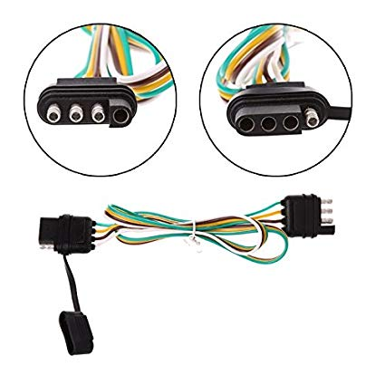 Pleasing Amazon Com Binoster 4 Way Trailer Wire Extension Wiring Harness Kit Wiring Cloud Xempagosophoxytasticioscodnessplanboapumohammedshrineorg