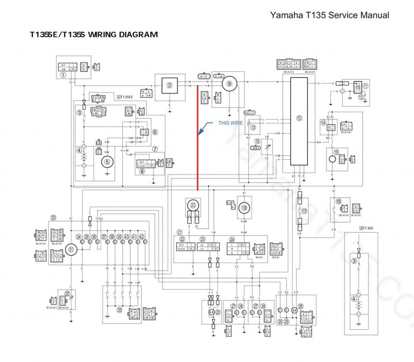 yamaha lc 135 wiring diagram al 4394  wiring diagram yamaha xeon  al 4394  wiring diagram yamaha xeon