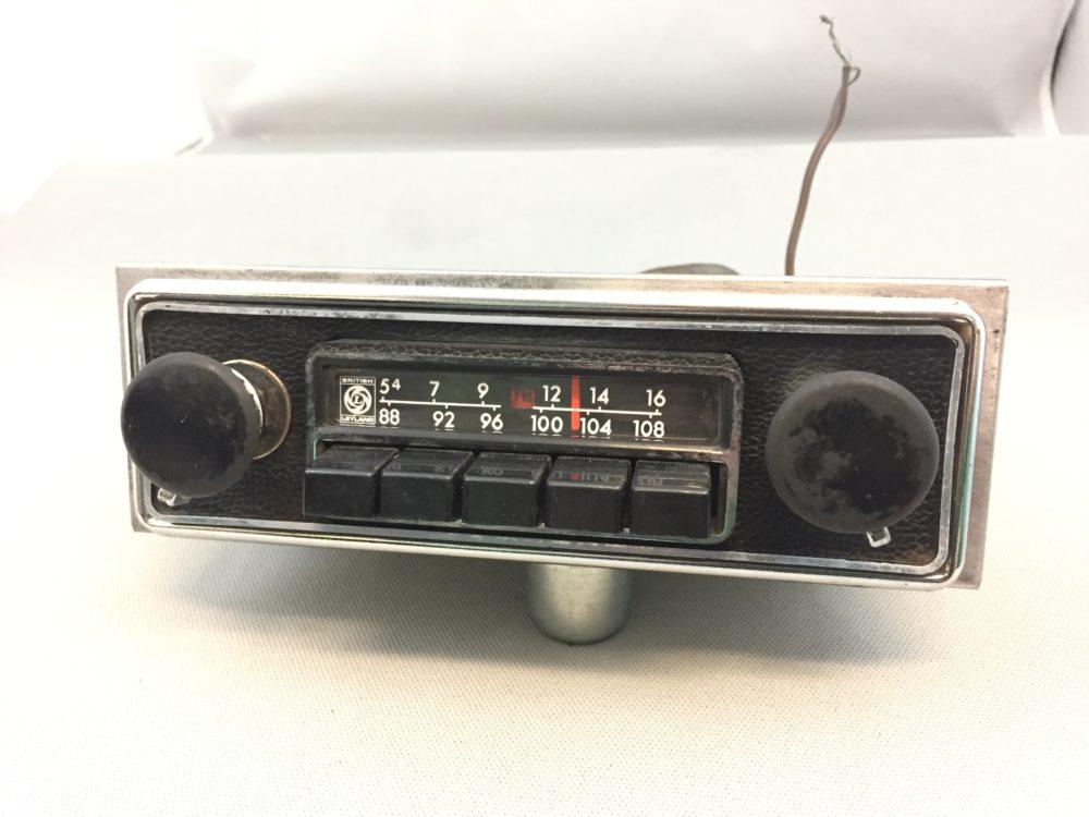 Sm 7542  British Leyland Radio Wiring Schematic Wiring