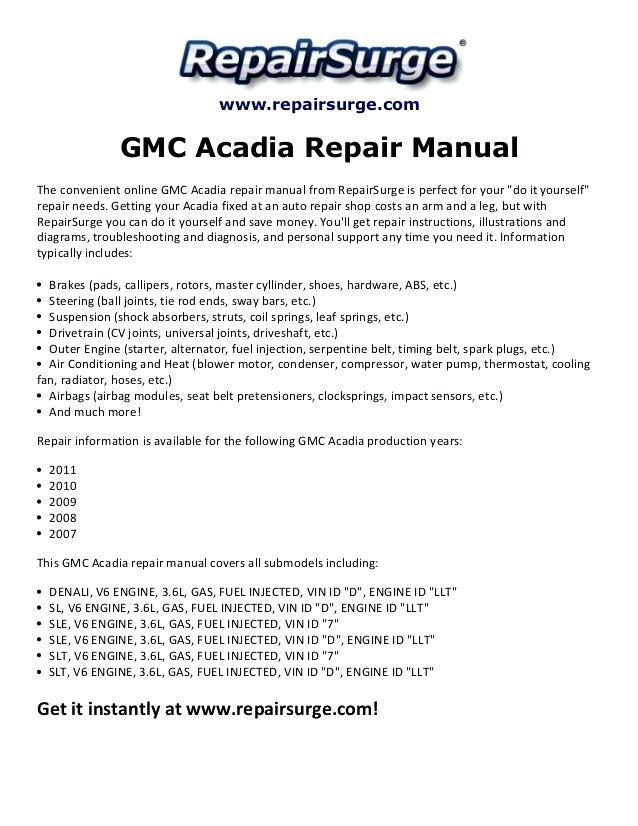 Et 3859 Gmc Acadia Wiring Schematic Wiring Diagram