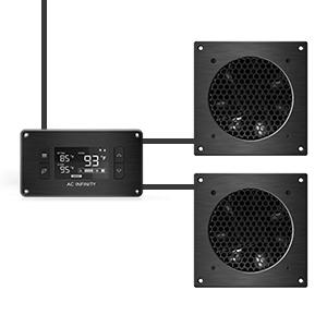 Terrific Amazon Com Ac Infinity Airplate T9 Quiet Cooling Fan System 18 Wiring Cloud Xortanetembamohammedshrineorg