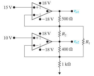 Admirable Solved The Two Op Amps In The Circuit In The Figure Are I Wiring Cloud Intelaidewilluminateatxorg