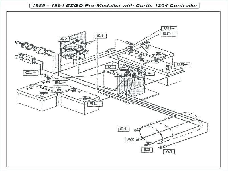 1994 Ezgo Marathon Wiring Diagram - Wiring Diagram