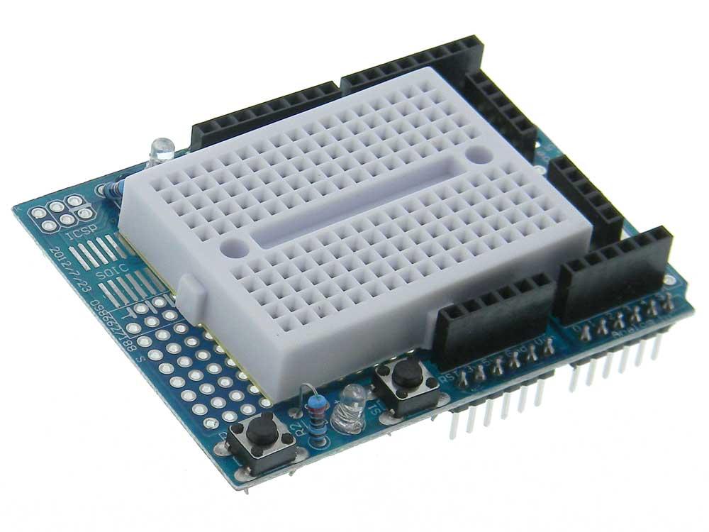 Surprising Solderless Breadboard Arduino Compatible Shield Mpja Com Wiring Cloud Vieworaidewilluminateatxorg