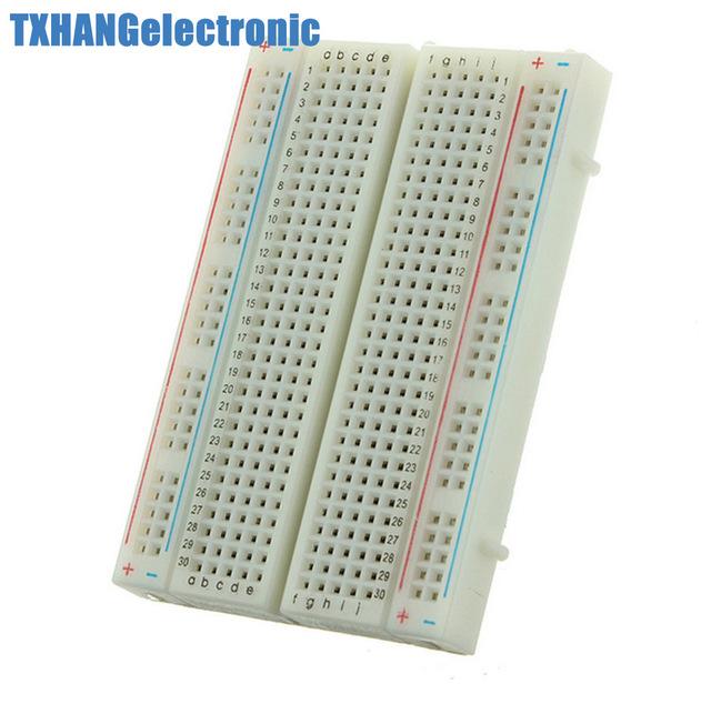 Prime Mini Universal Solderless Breadboard 400 Contacts Tie Points Wiring Cloud Vieworaidewilluminateatxorg