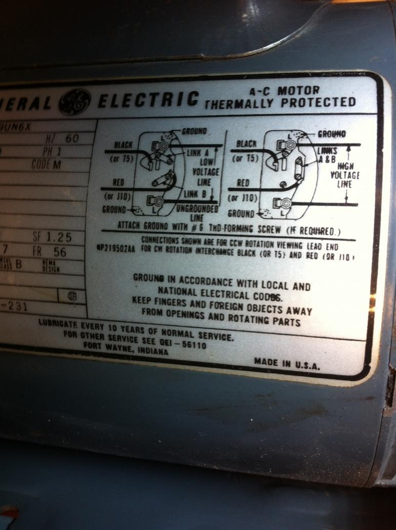 general electric wiring diagram ct 2451  general electric motor general electric motor wiring  general electric motor wiring