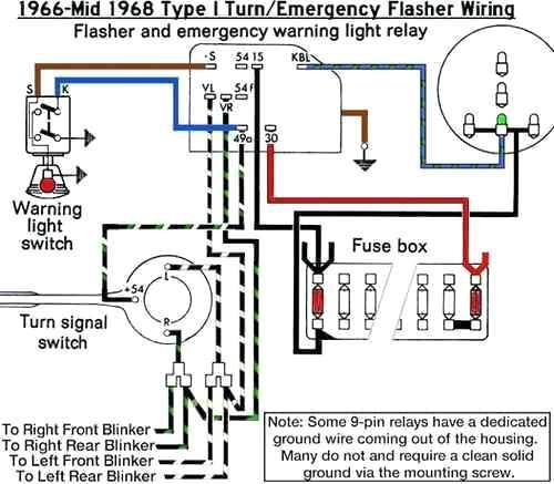 68 vw beetle flasher wiring diagram  center wiring diagram