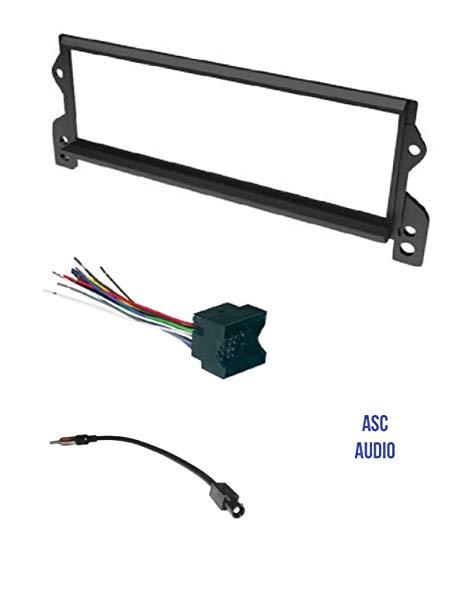 Terrific Amazon Com Asc Car Stereo Install Dash Kit Wire Harness And Wiring Cloud Icalpermsplehendilmohammedshrineorg