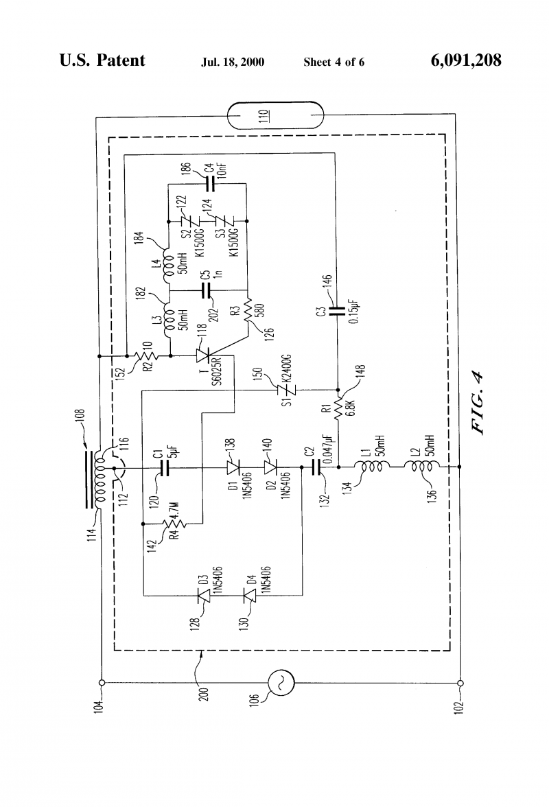 Sodium Vapor Light Wiring Diagram