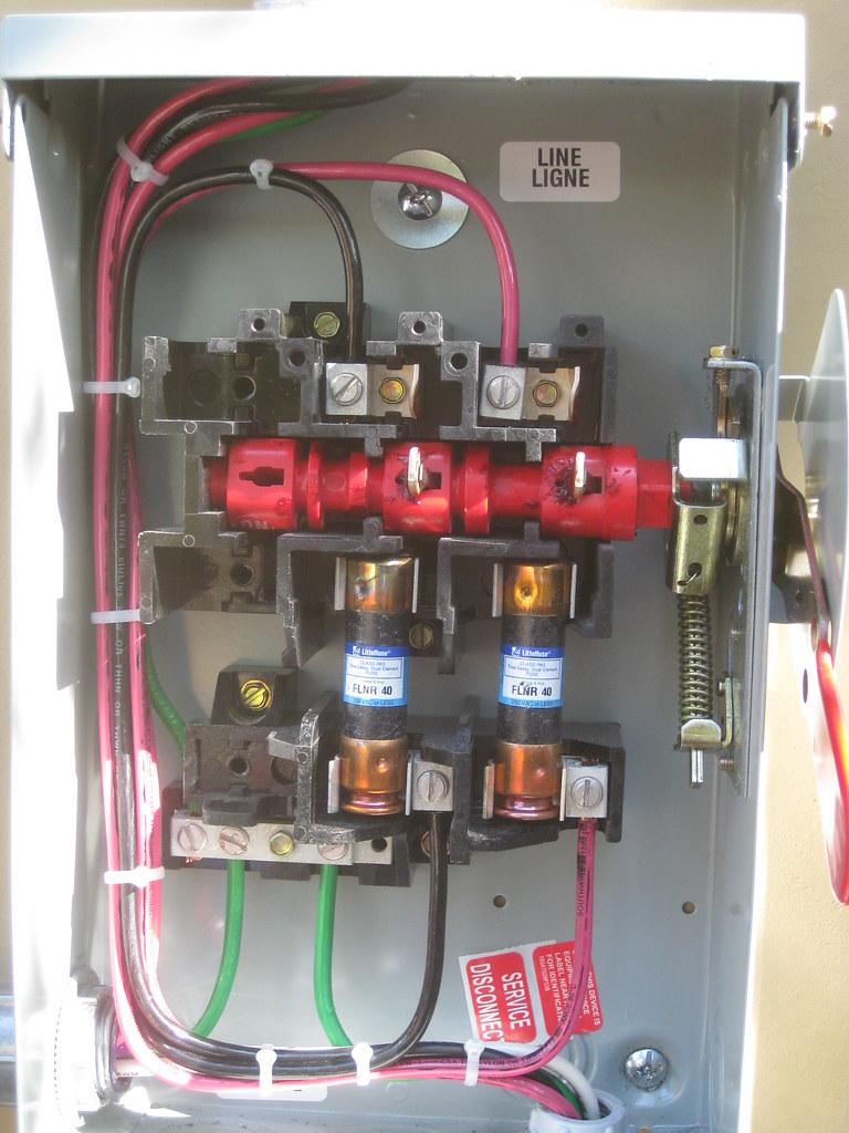 No 6695 30 Amp Disconnect Breaker Box Wiring Diagram Free Diagram