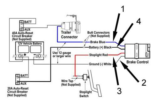 reese brake controller wiring diagram  3 phase car ramp