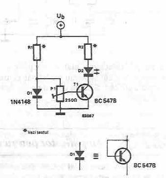 Groovy Temperature Sensor Circuit Using 1N4148 Diode Wiring Cloud Cranvenetmohammedshrineorg