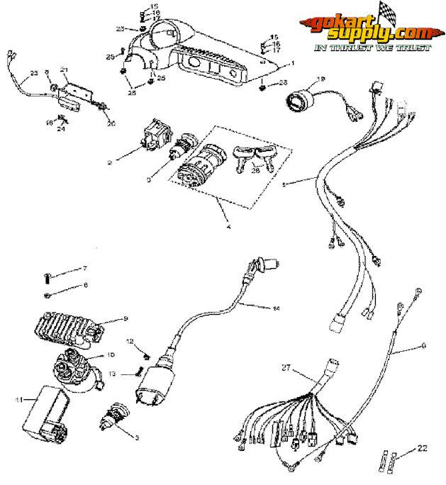 AK_3197] 150 Go Cart Parts Wiring DiagramGenion Hendil Mohammedshrine Librar Wiring 101