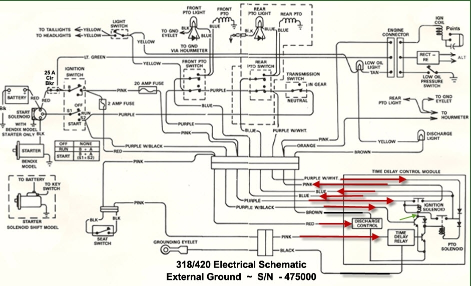 318 Wiring Diagram John Deere